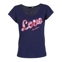 tekstylia Damskie T-shirty z krótkim rękawem Love Moschino W4G4127 Niebieski