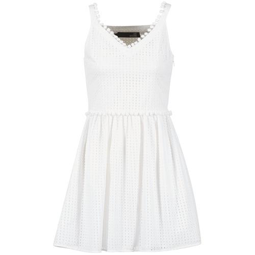 tekstylia Damskie Sukienki krótkie Love Moschino WVF3880 Biały