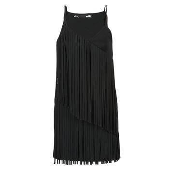 tekstylia Damskie Sukienki krótkie Love Moschino W595800 Czarny
