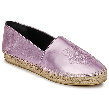 Buty Damskie Espadryle Kenzo TIGER METALIC SYNTHETIC LEATHER Różowy