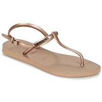 Buty Damskie Sandały Havaianas FREEDOM Różowy / Złoty