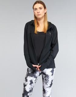 tekstylia Damskie Bluzy Puma TRANSITION JKT Czarny