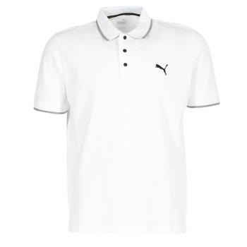 tekstylia Męskie Koszulki polo z krótkim rękawem Puma PUMA HERO POLO Biały
