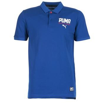 tekstylia Męskie Koszulki polo z krótkim rękawem Puma STYLE TEC POLO Niebieski