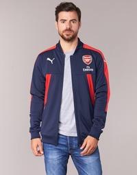 tekstylia Męskie Bluzy Puma AFC STADIUM JACKET Marine