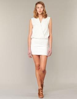 tekstylia Damskie Sukienki krótkie Le Temps des Cerises SHERY Biały