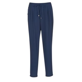 tekstylia Damskie Spodnie z lejącej tkaniny / Alladynki Molly Bracken FODES MARINE