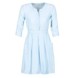 tekstylia Damskie Sukienki krótkie Molly Bracken BLECH Niebieski