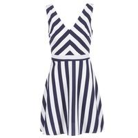 tekstylia Damskie Sukienki krótkie Molly Bracken TRODAK MARINE / Biały