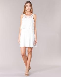 tekstylia Damskie Sukienki krótkie Molly Bracken SAMARC Ivory