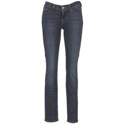 tekstylia Damskie Jeansy straight leg Levi's 714 STRAIGHT WEST / WONDER