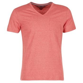 tekstylia Męskie T-shirty z krótkim rękawem Tommy Hilfiger HTR END ON END Różowy