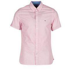 tekstylia Męskie Koszule z krótkim rękawem Tommy Hilfiger TAMBER GEO Różowy