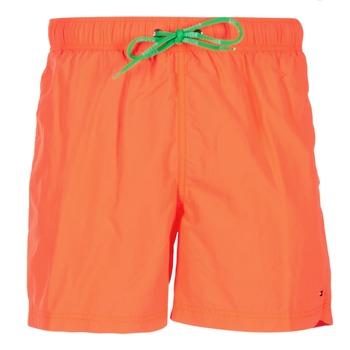 tekstylia Męskie Kostiumy / Szorty kąpielowe Tommy Hilfiger SOLID SWIM TRUNK Pomarańczowy