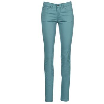 tekstylia Damskie Spodnie z pięcioma kieszeniami Les P'tites Bombes BEMBRELA Niebieski
