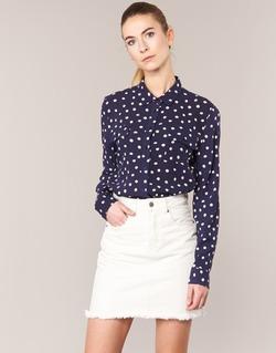tekstylia Damskie Koszule Kookaï HOLIAVE MARINE / Biały