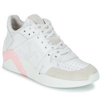 Buty Damskie Trampki wysokie Serafini CHICAGO Biały / Różowy