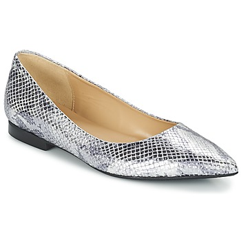Buty Damskie Baleriny Betty London GRACE Srebrny / Pyton