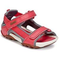 Buty Dziewczynka Sandały Camper OUS Czerwony