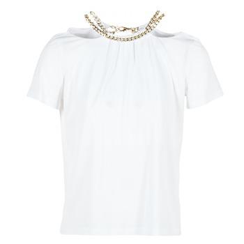 tekstylia Damskie Topy / Bluzki Versace Jeans B2HPB721 Biały