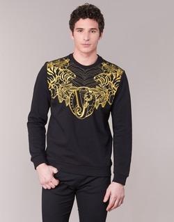 tekstylia Męskie Bluzy Versace Jeans B7GPB7F0 Czarny