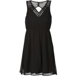 tekstylia Damskie Sukienki krótkie Vero Moda BIANCA Czarny