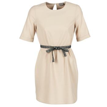 tekstylia Damskie Sukienki krótkie Vero Moda MILO SUKI Beżowy