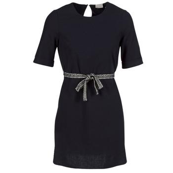 tekstylia Damskie Sukienki krótkie Vero Moda MILO SUKI Czarny