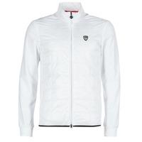 tekstylia Męskie Kurtki krótkie Emporio Armani EA7 GREEN CLUB Biały