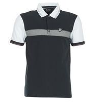 tekstylia Męskie Koszulki polo z krótkim rękawem Emporio Armani EA7 TENNIS CLASSIC MARINE / Biały