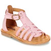 Buty Dziewczynka Sandały Citrouille et Compagnie JASMA Różowy