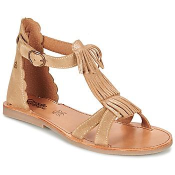 Buty Dziewczynka Sandały Citrouille et Compagnie GAMELA Camel