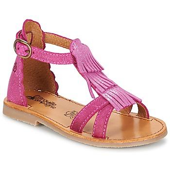Buty Dziewczynka Sandały Citrouille et Compagnie GAMELA Różowy