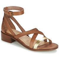 Buty Damskie Sandały Casual Attitude COUTIL Camel / Dore