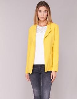 tekstylia Damskie Kurtki / Blezery Only DUBLIN żółty