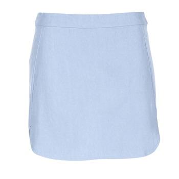 tekstylia Damskie Spódnice Betty London IGUANIARY Niebieski