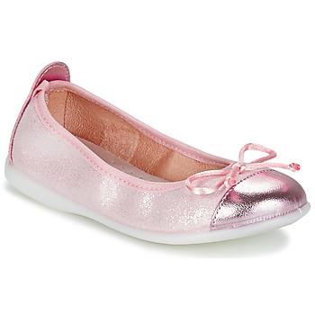 Buty Dziewczynka Baleriny Citrouille et Compagnie GRAGON Różowy / Pailleté
