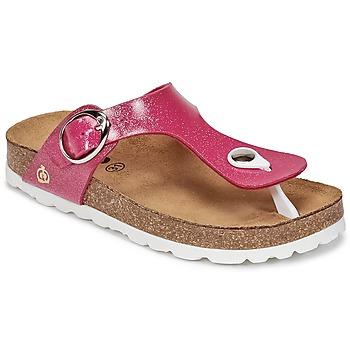 Buty Dziewczynka Japonki Citrouille et Compagnie GOMINET Różowy