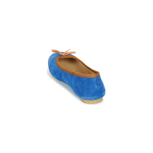 BAIE  Kickers  baleriny  damskie  niebieski / pomarańczowy