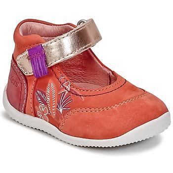Buty Dziewczynka Baleriny Kickers BIMAMBO Pomarańczowy / Fuksja / Różowy