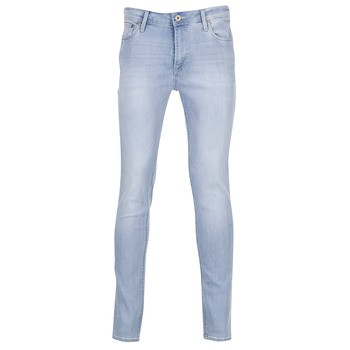 tekstylia Męskie Jeansy slim fit Jack & Jones LIAM JEANS INTELLIGENCE Niebieski / Clair