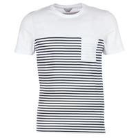 tekstylia Męskie T-shirty z krótkim rękawem Jack & Jones APRIL CORE Biały / Marine