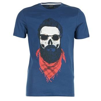 tekstylia Męskie T-shirty z krótkim rękawem Jack & Jones TRICK ORIGINALS MARINE
