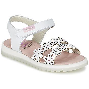Buty Dziewczynka Sandały Pablosky COULOIME Biały