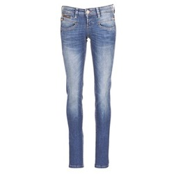 tekstylia Damskie Jeansy slim fit Freeman T.Porter ALEXA SLIM SDM Niebieski / Medium