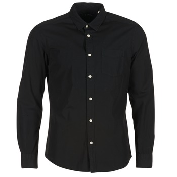 tekstylia Męskie Koszule z długim rękawem Esprit FOVETTIO Czarny