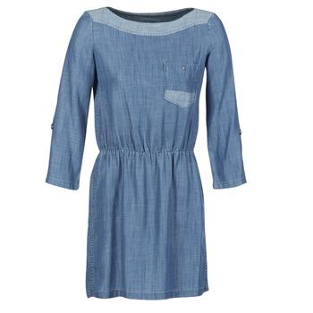 tekstylia Damskie Sukienki krótkie Esprit CHAVIOTA Niebieski / Medium