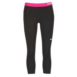 tekstylia Damskie Legginsy Nike NP CL CAPRI Czarny / Różowy