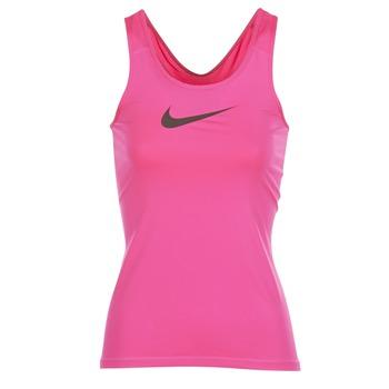 tekstylia Damskie Topy na ramiączkach / T-shirty bez rękawów Nike NIKE PRO COOL TANK Różowy