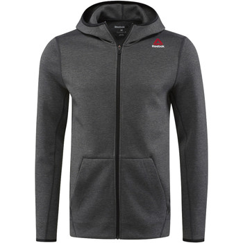 Bluzy Reebok Sport Bluza z kapturem Quik Cotton Full Zip